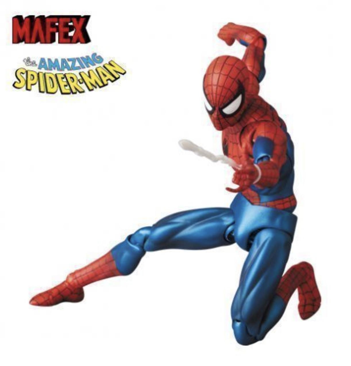 AUTHENTIC Mafex Medicom Spider-Man Comic Version Spiderman 075 New US SELLER