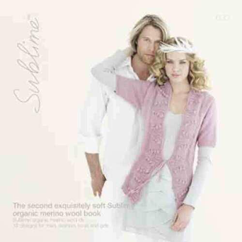 El segundo exquisitamente suave sublime orgánico libro 630 15 diseños de lana Merino