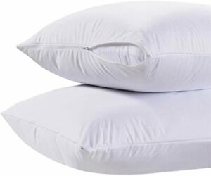 King-Size-Zippered-100-Cotton-Pillow-Protector-Set-of-2