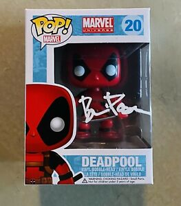 Brian Posehn Signed Autographed Marvel Deadpool Funko Pop