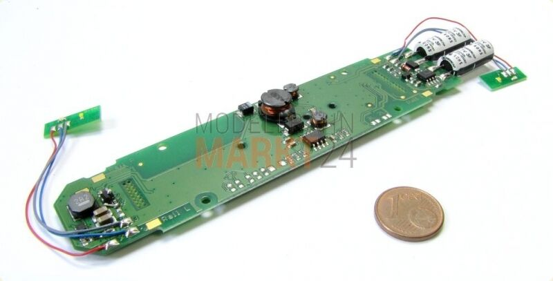 Replacement PCB with LED Board f. Camera e.g. in Roco Elektrolok BR 103 h0 NEW