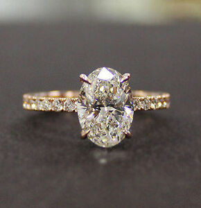 New-1-20-Ct-Oval-Cut-Diamond-Engagement-Ring-Round-Cut-Accents-F-VS2-GIA-14K-WG