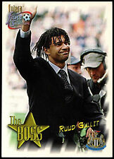 Ruud Gullit Newcastle United #96 Futera 1999 Football Trade Card (C345)