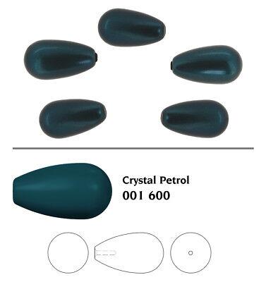 Beaucoup Tailles /& Couleurs Genuine Swarovski 5816 Goutte demi foré cristal perles
