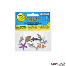 Ocean Fun Pack Mini Good Luck Figures Safari Ltd NEW Toys Educational Kids