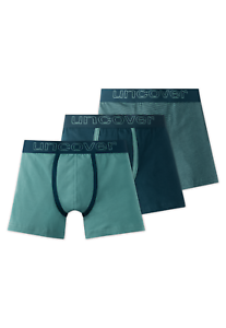 El Schiesser Boys Hip-Retro Uncover Shorts Pack of 3 XS M L 140-176 95//5 Co