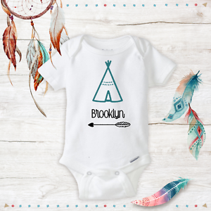 f871d9d9ace Image is loading Personalized-Boho-Baby-Clothes-newborn-Baby-Girl-Infant-