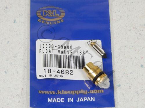 SUZUKI NEW K/&L FLOAT VALVE NEEDLE /& SEAT 18-4682