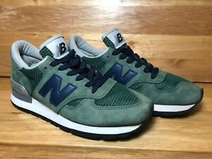 New-Balance-Made-In-USA-02134-WOMENS-US-Size-9-Green-Suede-Rare