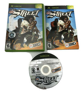 NFL Street (Microsoft Xbox, 2004) Complete with Manual ! CIB ! Tested