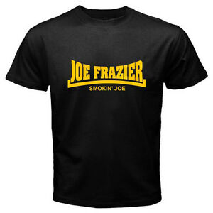 5616e268ea47 New JOE FRAZIER Smokin' Joe Boxing Legend Men's Black T-Shirt Size S ...