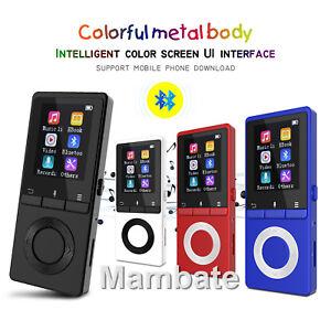AGPtek-Bluetooth-Lossless-MP3-Music-Player-Metal-Body-Loud-Speaker-FM-Player