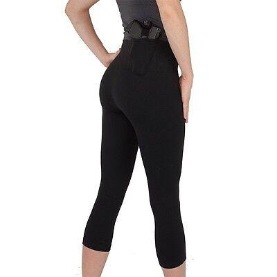 UnderTech Undercover Women/'s Concealed Carry Zip Pocket Leggings in Black 4091