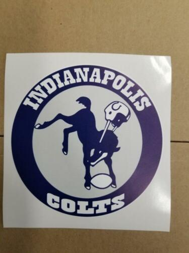 Indianapolis Colts cornhole board or vehicle decal(s)IC4