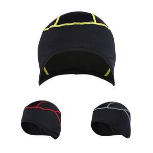 Neu-Fahrrad-Sport-Unter-Helm-Winter-Reiten-Thermische-Windjacke-Kopfkappe
