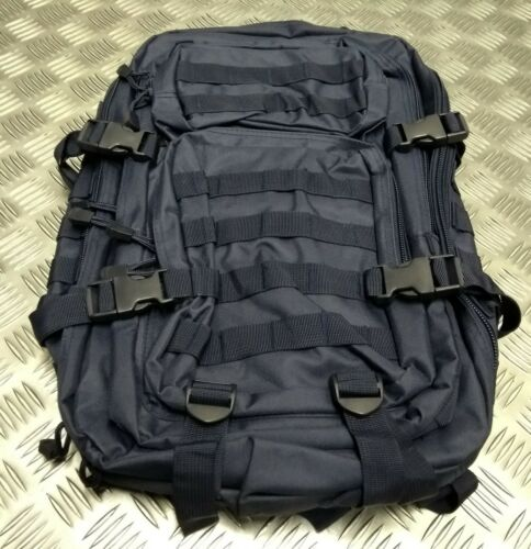 U.S Military Styled 30 Litre Molle Patrol /& Reconnaissance Detail Backpack Blue