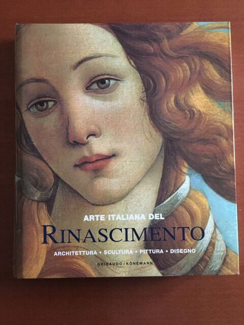ARTE ITALIANA DEL RINASCIMENTO Architettura Scultura Pittura Disegno GRIBAUDO