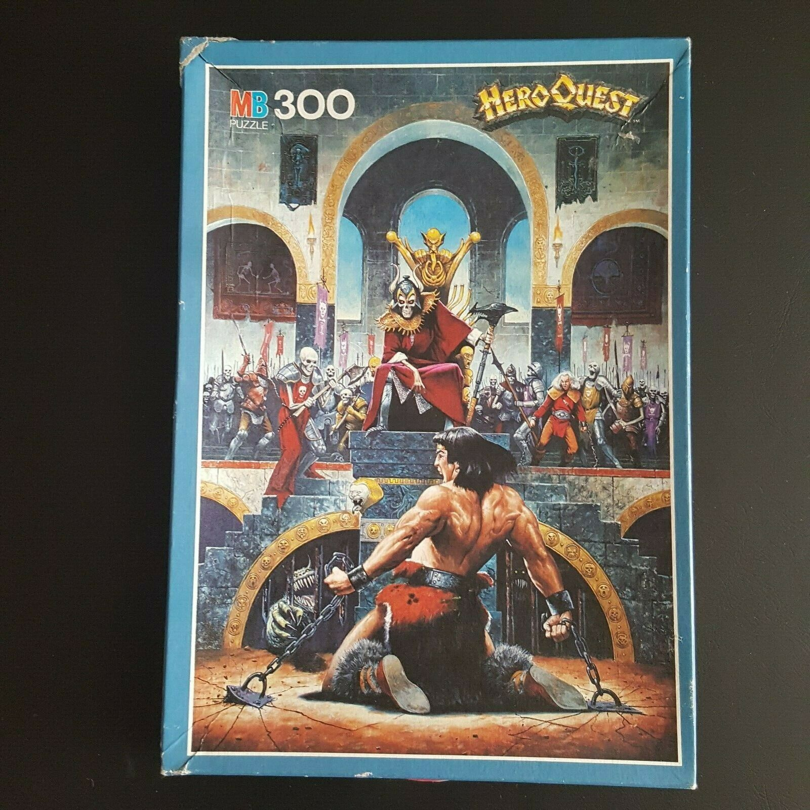 RARE Hero Quest  The Witch Lord  MB Jigsaw Puzzle 300pcs COMPLETE VGC