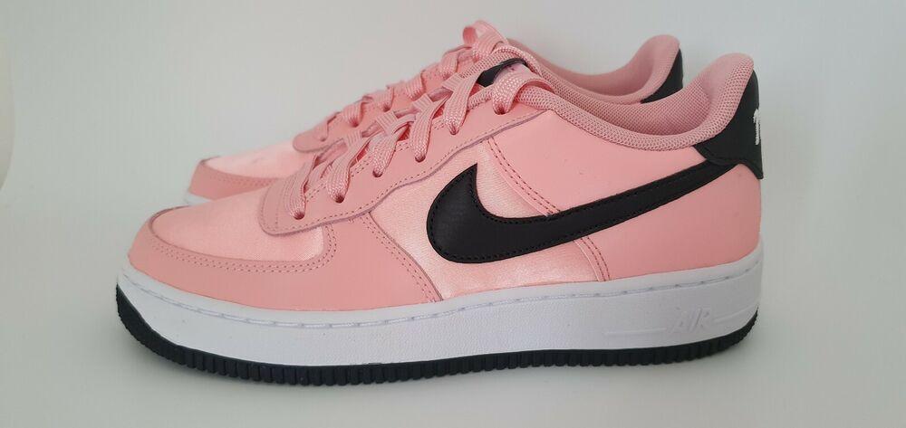 100% De Qualité Nike Air Force 1 Vday (gs) Taille Uk Taille 5 (bq6980 600) Bleached Corail/noir Nous Prenons Les Clients Comme Nos Dieux