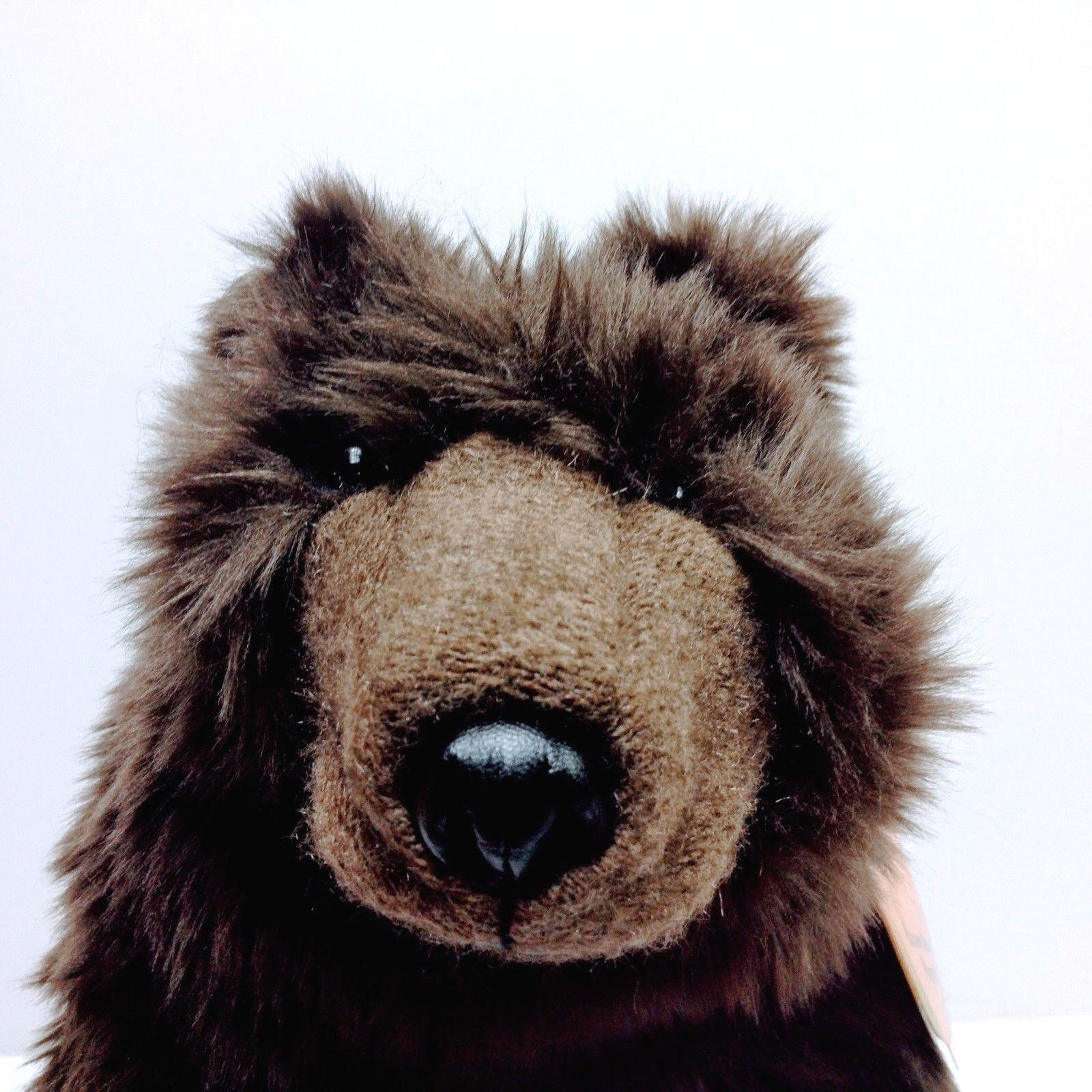 Folkmanis braun Bear Puppet 2841 RARE NWT