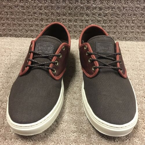 Hombre ludlow Vans Henna cuero Zapatos FPRwxwd1q