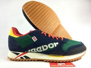 NEW-Reebok-Classic-Leather-Ripple-DV7193-Clover-Green-Primal-Red-Alter-the-Icon