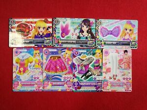 Collectible Card Games Mixed Lot 12 Cards Aikatsu Japanese Cards Used Condition #1553