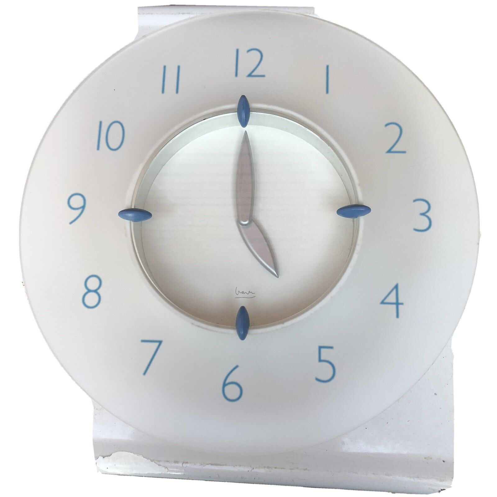 Michael Graves Wall Clock Nautical White For Sale Online Ebay
