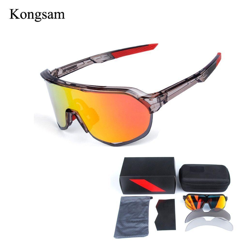 Sunglasses Men Cycling Glasses Uv400 Polarized Outdoor Sports Goggles Eye Wear