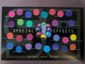 Special Effects Hairdye ANY FIVE BOTTLES