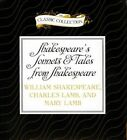 Shakespeare's Sonnets & Tales from Shakespeare by William Shakespeare, Charles Lamb, Mary Lamb (CD-Audio, 2014)