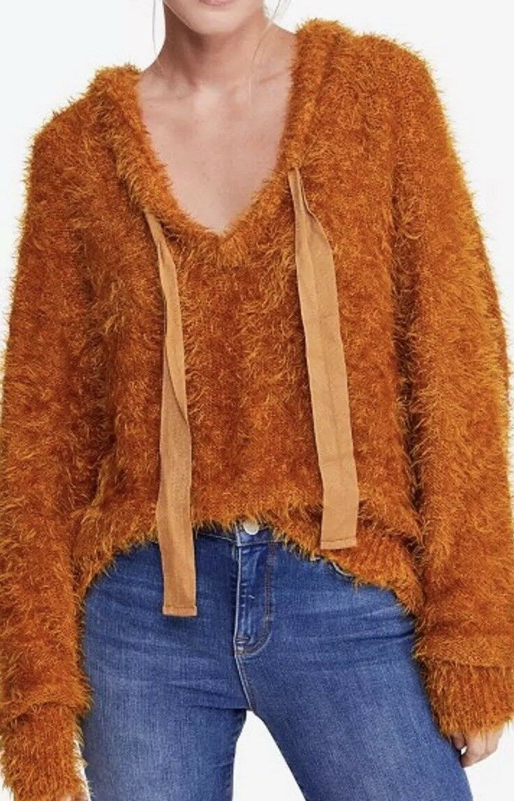 Free people Light As a Feather Hoodie Large New