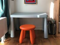 Skrivebord, 2y. old, like new!, Small desk and