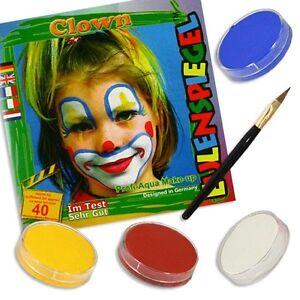 Clownschminke Clownsgesicht Schminken Kinder Makeup