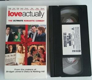Details about Love Actually [VHS] Hugh Grant, Liam Neeson FIRTH EMMA  THOMPSON FREE SHIPPING !