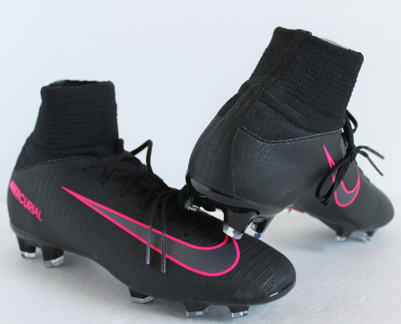 75925b8b6 Nike Jr. Mercurial Superfly V FG Soccer Cleats Size 4y Black Pink ...