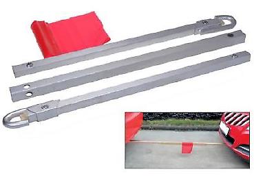 Anhängerkup. & Abschleppteile Tasche Abschleppseil NEU Abschleppstange bis 2,5 Tonnen inkl