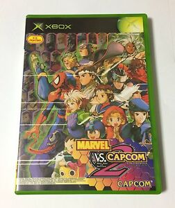 USED-Xbox-MARVEL-VS-CAPCOM-2-New-Age-of-Heroes-JAPAN-import-Japanese-game