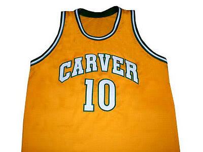 super popular 3a976 ab88d TIM HARDAWAY CARVER HIGH SCHOOL BASKETBALL JERSEY QUALITY ...