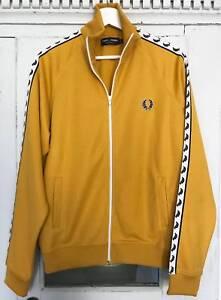 bra erbjudanden billig försäljning varm försäljning Fred Perry Yellow Sport Track Jacket Size Medium   eBay