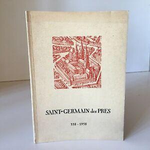 Catálogo Las Fonts Archivos Saint-Germain-Des-Prés 558-1958 Hotel Rohan