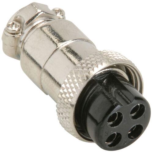 CB Mic Plug 4 Pin Female