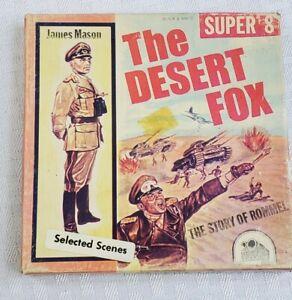 1951 THE DESERT FOX- THE STORY OF ROMMEL-James Mason- Super 8 Film in box