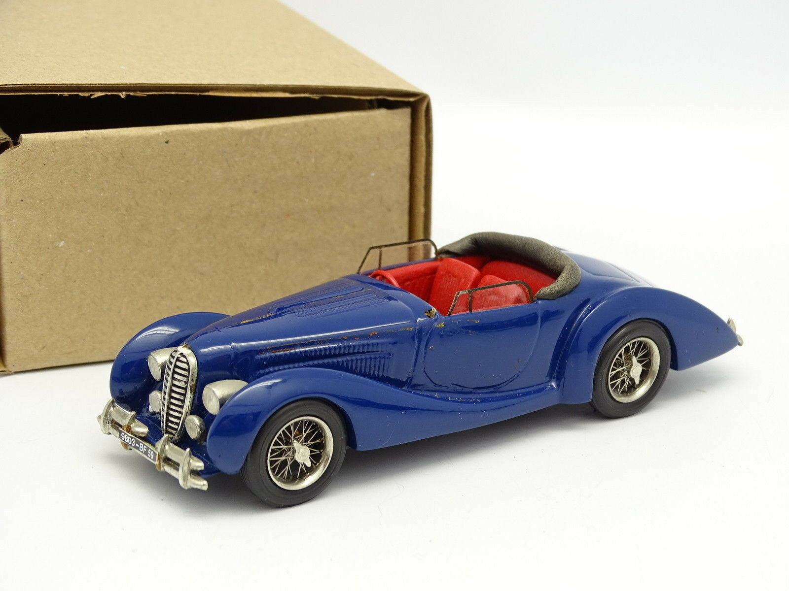 Ma Collection Resin 1 43 43 43 - Delahaye 135 MS 1939 bluee 4fe9b0