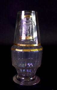 seltene-Sturzkaraffe-um-1750-Karaffe-amp-Glas