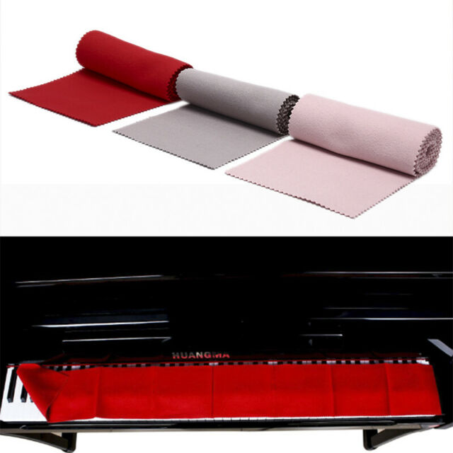 Red Cotton Piano Keyboard Dust Cover for All 88 Key Piano Or Soft Keyboar RG$
