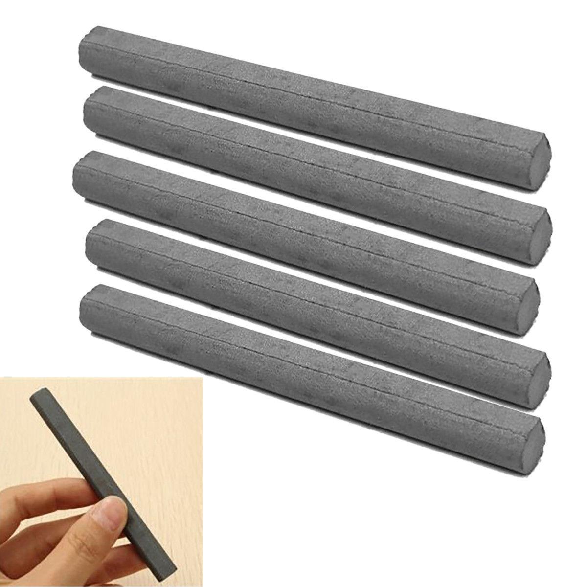 10x100mm Black MnZn Ferrite Rod Bar Loopstick For Crystal Radio Antenna Aerial