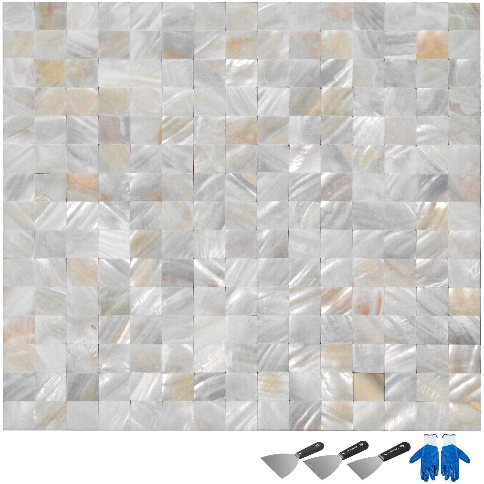 Shell Mosaic Tile Mother Of Pearl Tile For Bathroom Kitchen Backsplash 11sq Feet For Sale Online