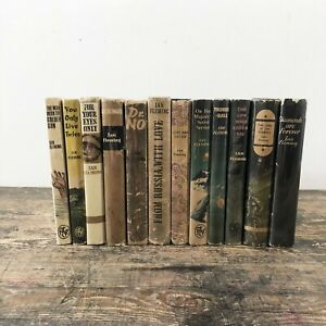 A-complete-set-of-first-edition-book-club-James-Bond-books