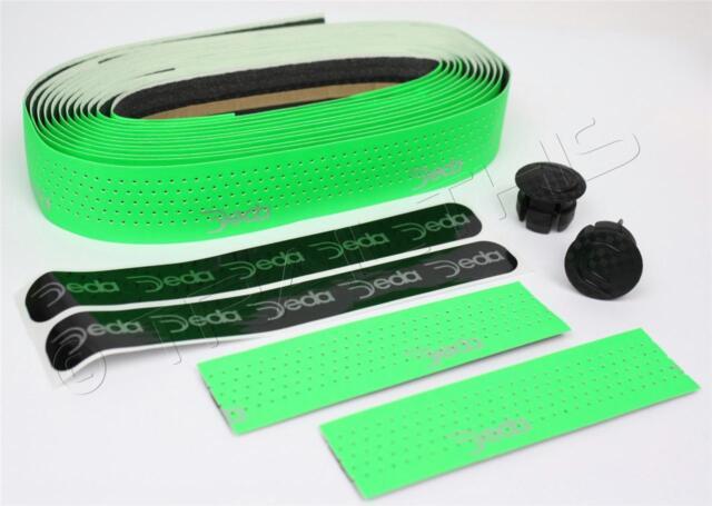 Deda Mistral Synthetic Leather Handlebar Tape Fluorescent Green Road Cross Bike